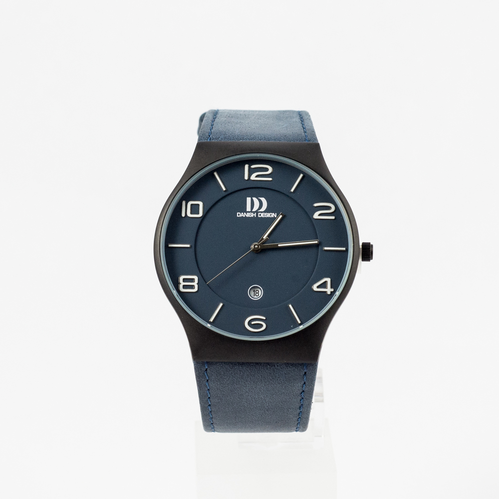 Danish Design Watch Blue Leather Strap & Blue Face £120.00