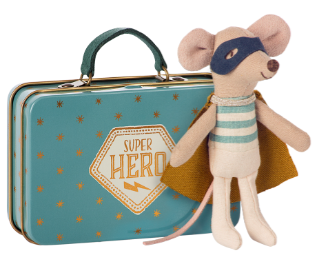 Super Hero Mouse in Tin  £21.00