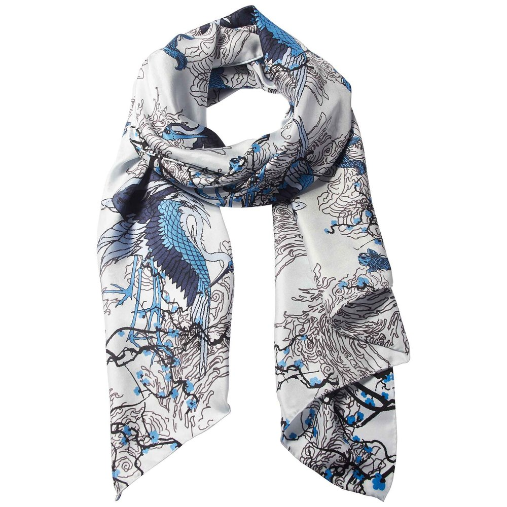 Blossom Scarf 100% Silk  £79.00
