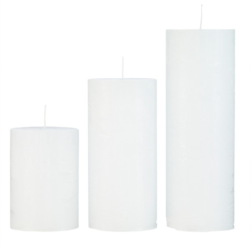 Cozy Living Pillar Candles  Prices Vary