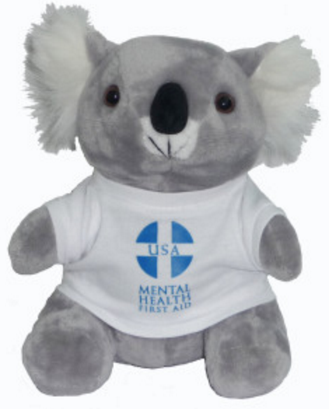 ALGEE is a mnemonic device for Mental Health First Aid's 5-step Action Plan – and the name of the program's koala mascot.    ALGEE origami project