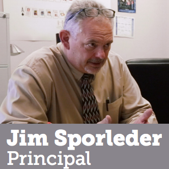 Jim Sporleder - Principal Sporleder was at the end of his rope trying to manage a high school riddled with violence and drugs. When he learns about the science of what stress does to a developing brain, he decides to completely overhaul the traditional model of discipline.