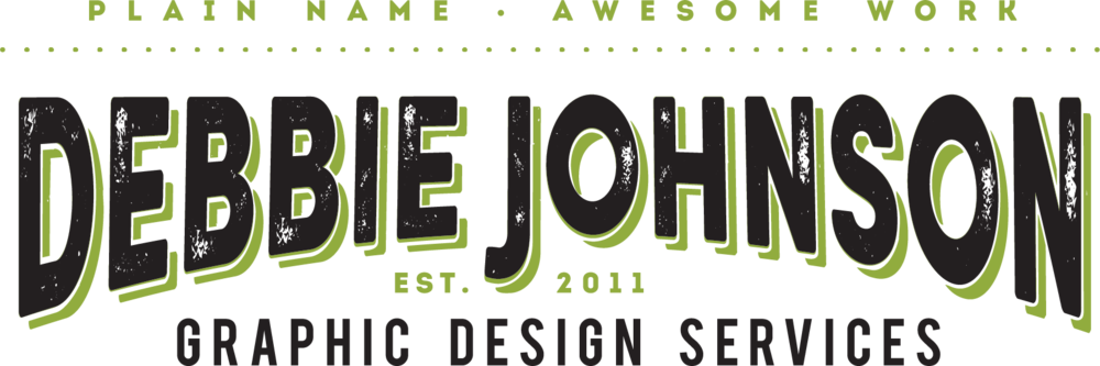 Silver Sponsor -  Debbie Johnson Graphic Design Services
