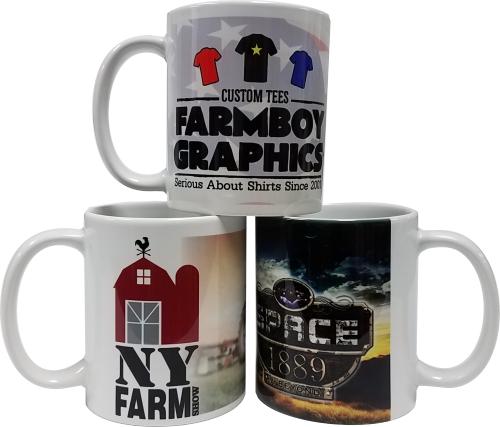 Full color custom mugs