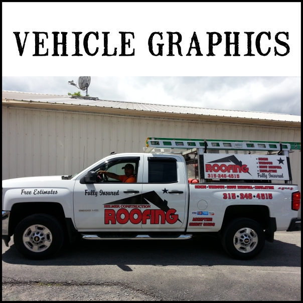 Cut and Digital Graphics. We offer Partial but no Full wraps.