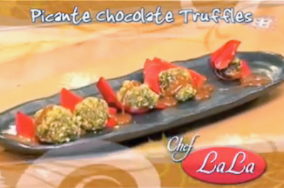 Picante Chocolate Truffles