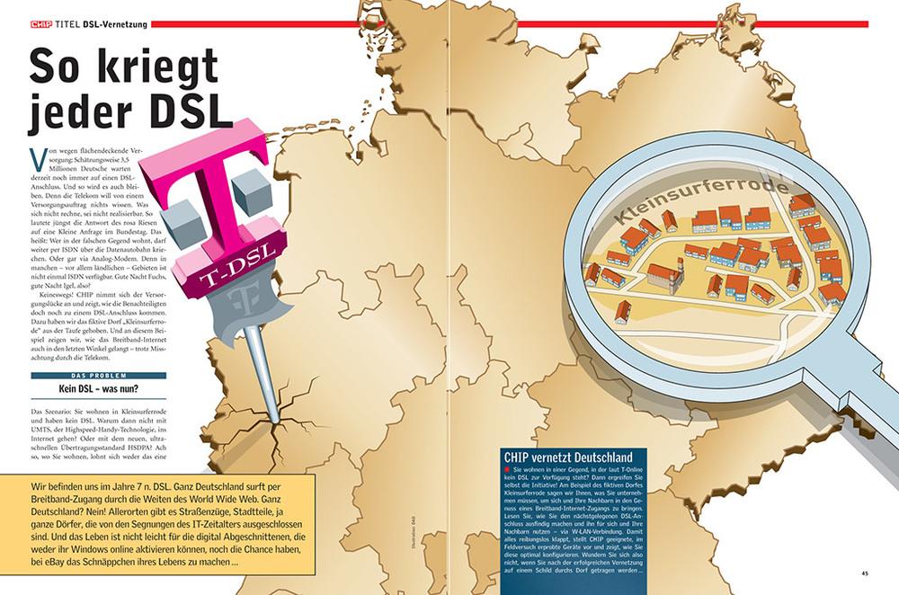 Report und Praxis: DSL