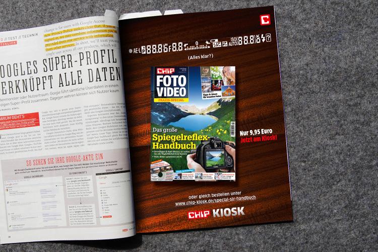 CHIP FOTO VIDEO. Spiegelreflex-Handbuch