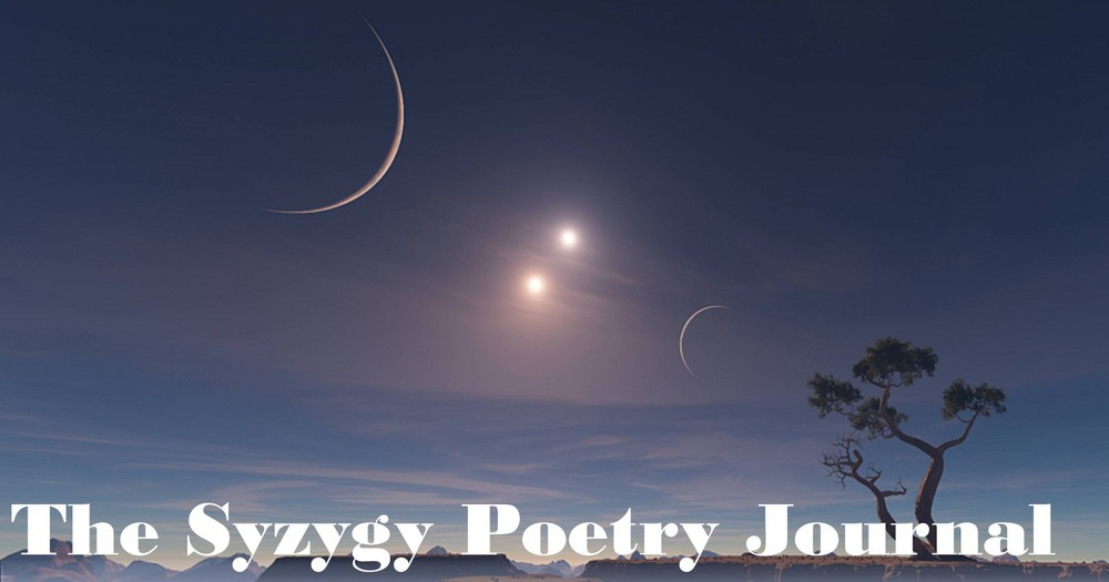 """Two Men Observing the Moon"" and ""North American Starling"" in  Syzygy ,   Volume 1, Issue 1"