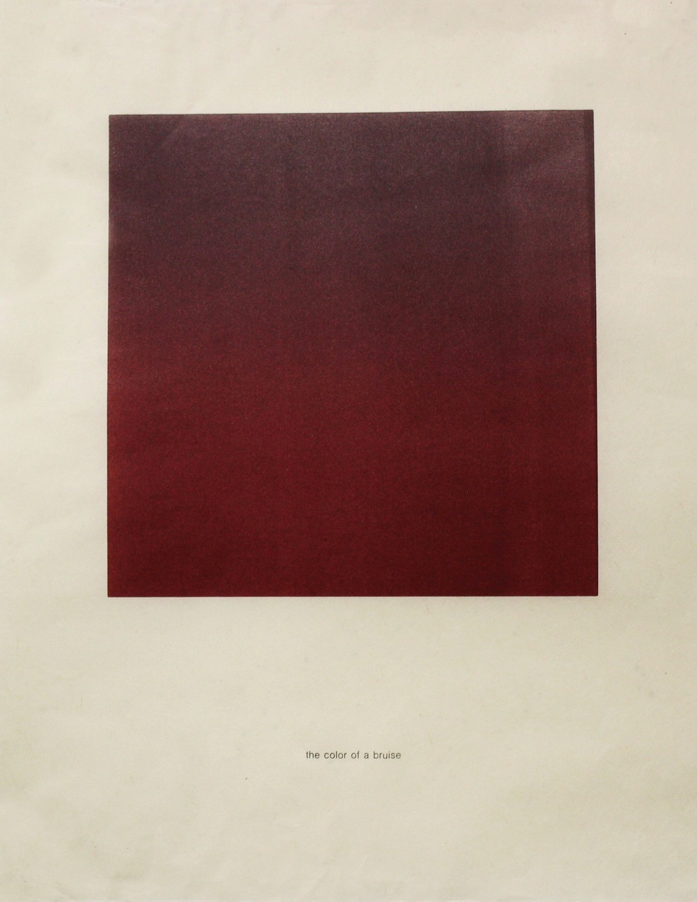 The Color of Fear: Bruise