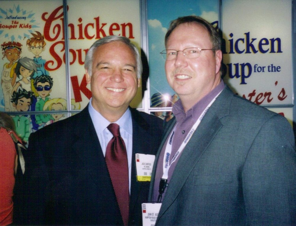 """ What John has done to mentor the lives of those in the media to become their best ""voice"" is remarkable. I can tell you that the man is not just passionate but also compassionate, driven but also disciplined and I am a life-long fan."" -Jack Canfield co-author of Chicken Soup for The Soul Series."
