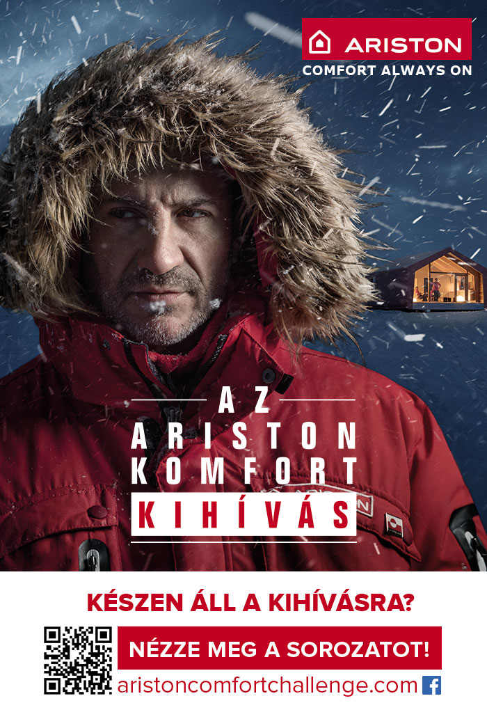 Ariston worldwide campaign, Hungary.