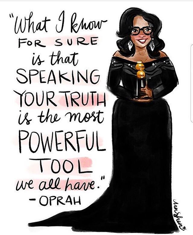 All hail the queen! She is my hero and inspiration. #queenoprah #oprahforpresident