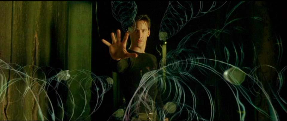 Bullet Time scene from The Matrix