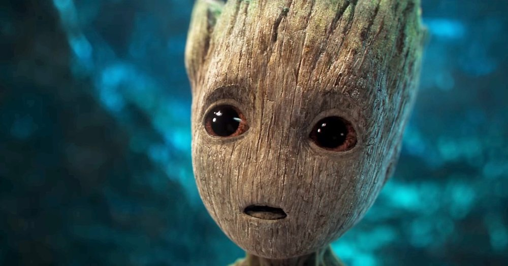Baby Groot from Guardians of the Galaxy Vol 2