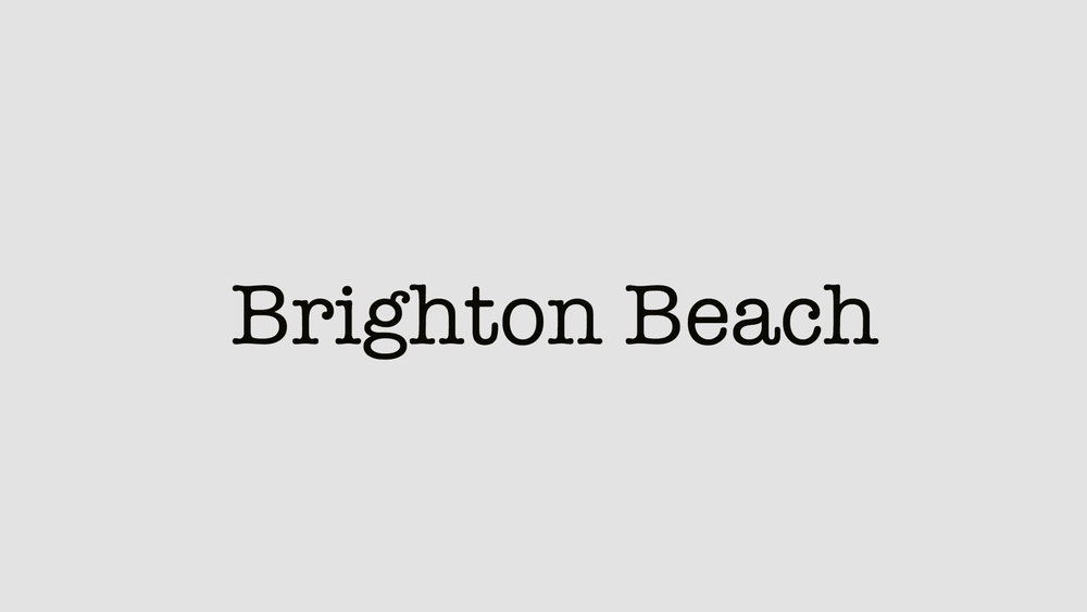 Brighton Beach (2018) A feature film featuring FKA Twigs, directed bu David Gutnik