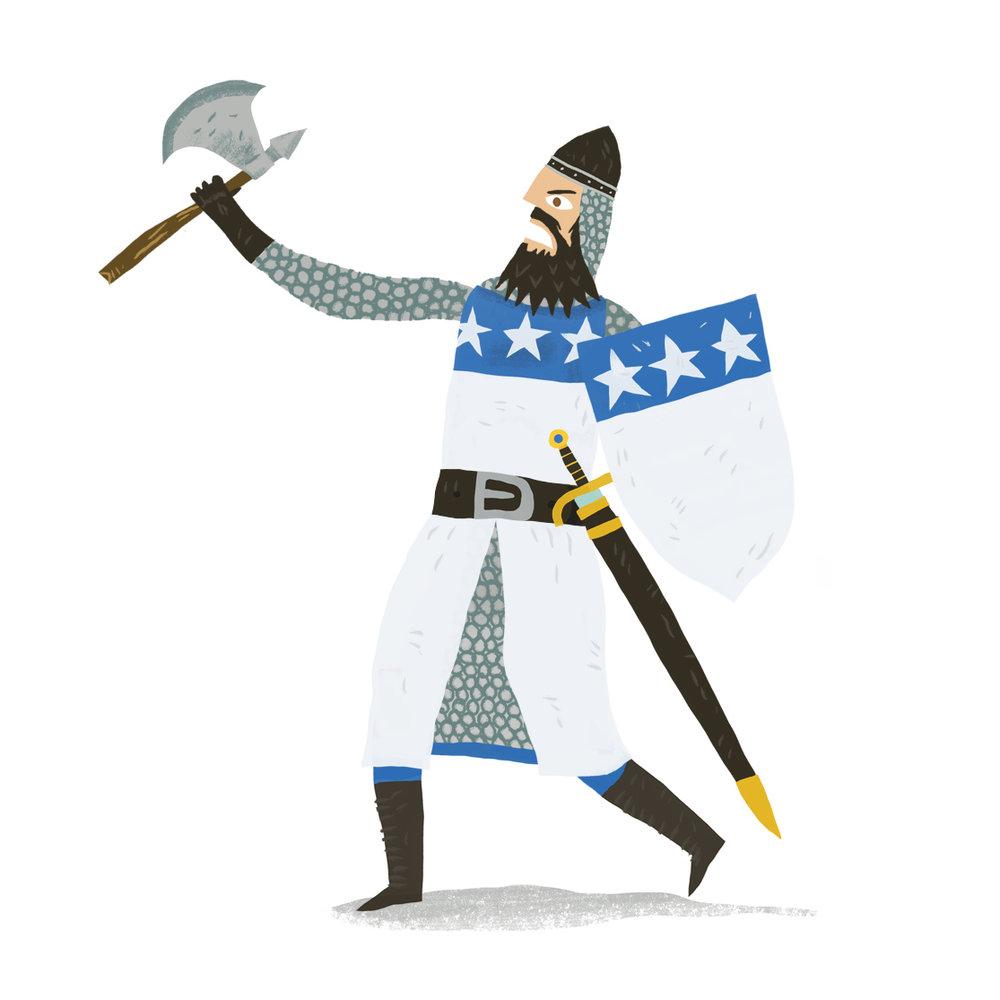"""James Douglas, aka """"The Black Douglas"""" and """"sir James the Good"""", Scottish, c.1289-1330"""