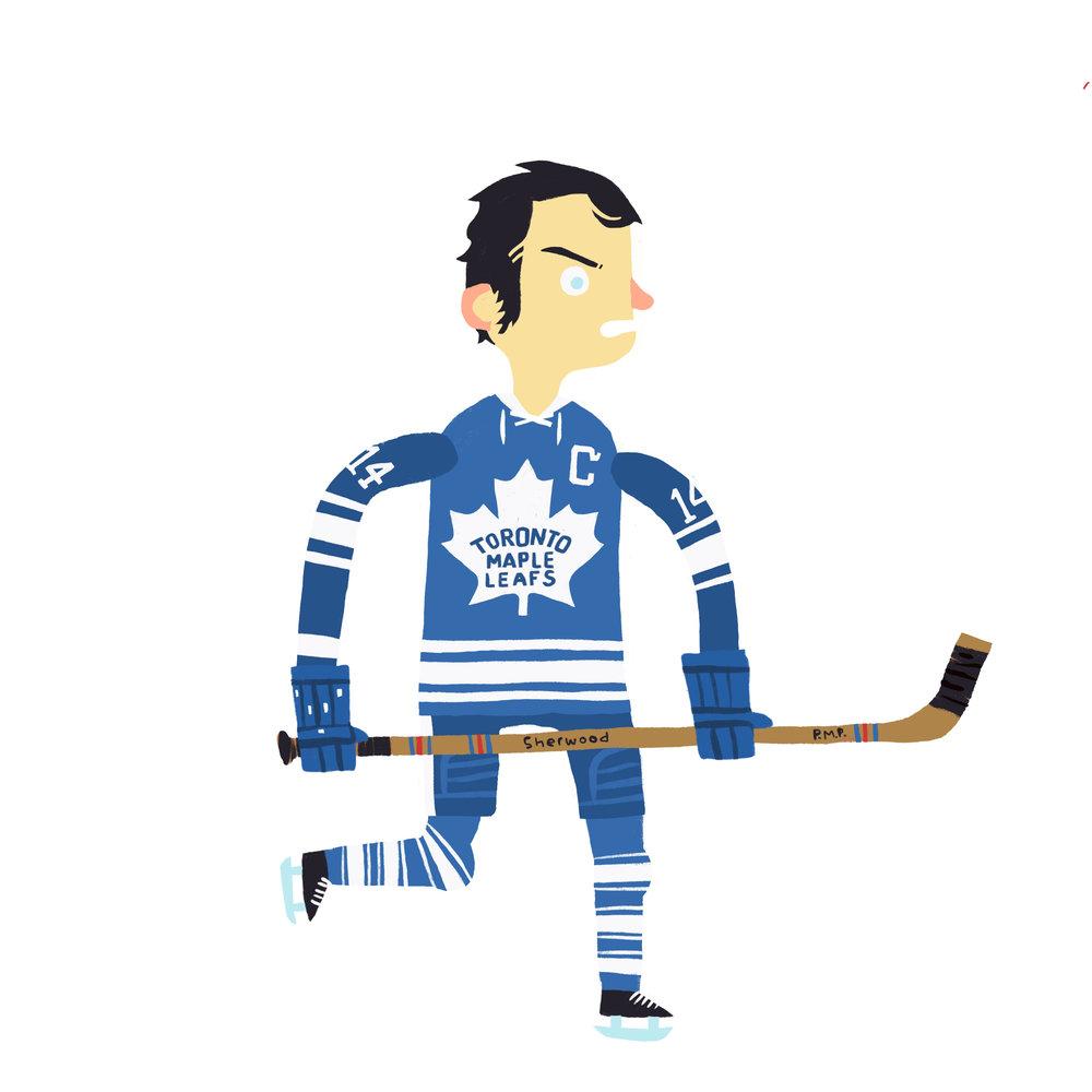 DAVID MICHAEL KEON, b. Noranda, QC Toronto Maple Leafs (1960-75)