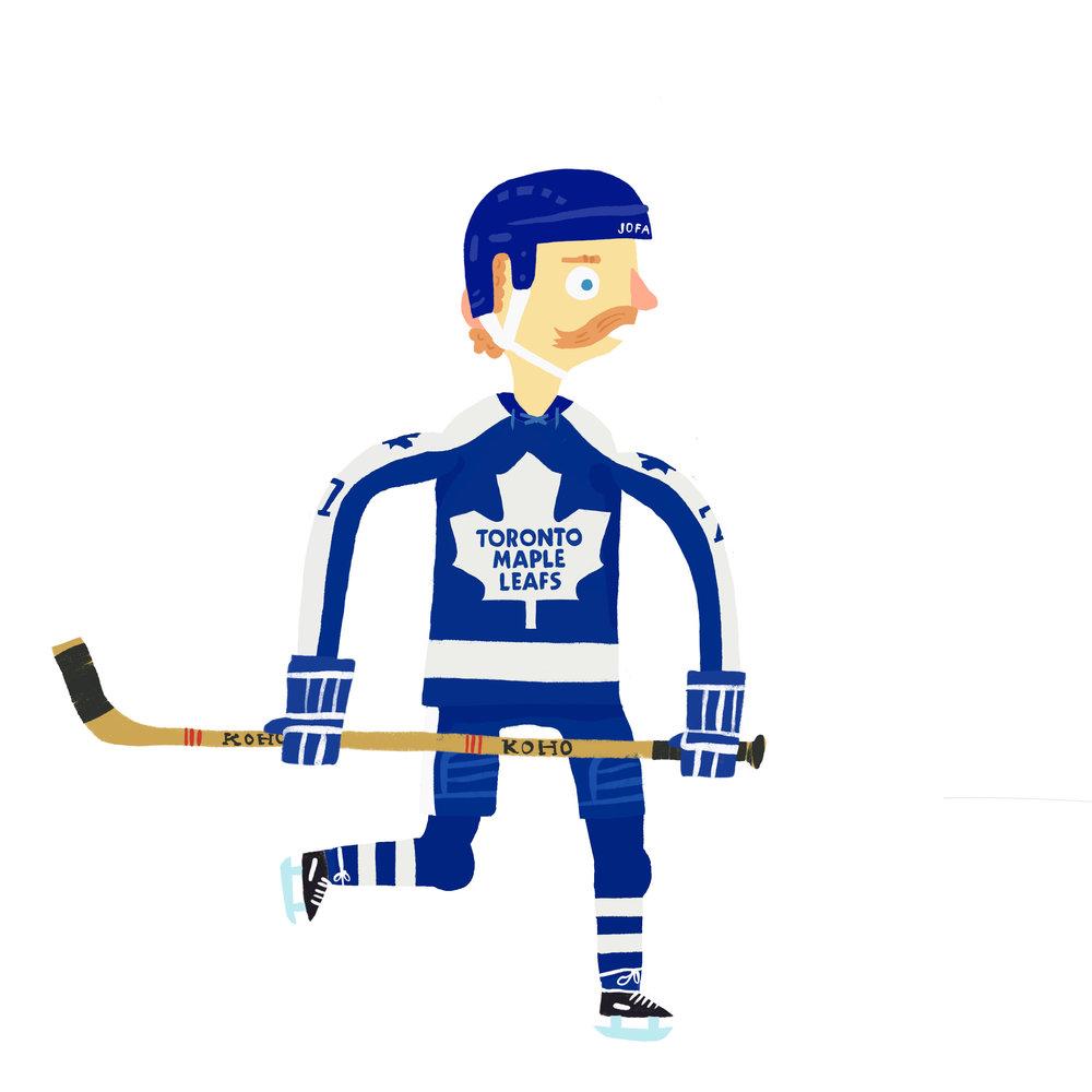 LANNY KING McDONALD, b. Hanna, AB Toronto Maple Leafs (1973-80)