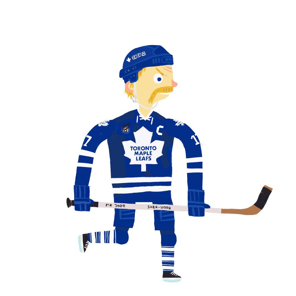 WENDEL CLARK, b. Kelvington, SK Toronto Maple Leafs (1985-94, 95-98,99-00)