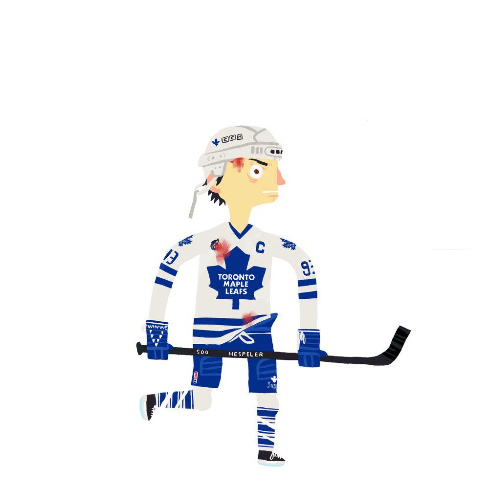 "DOUGLAS ""DOUGIE"" ROBERT GILMOUR,""KILLER"" b. Kingston, ON Toronto Maple Leafs (1991-97, 2002-03)"