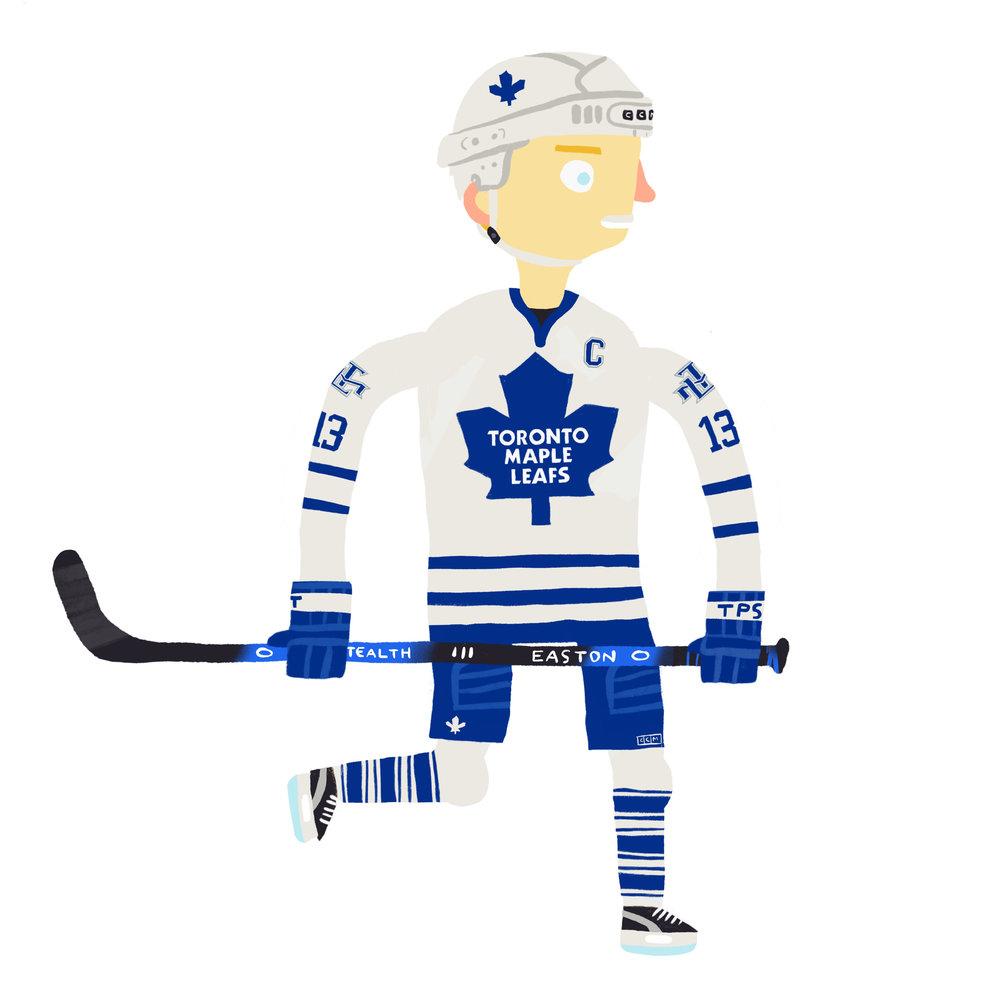 MATS JOHAN SUNDIN, b. Bromma, SWE Toronto Maple Leafs (1994-2008)