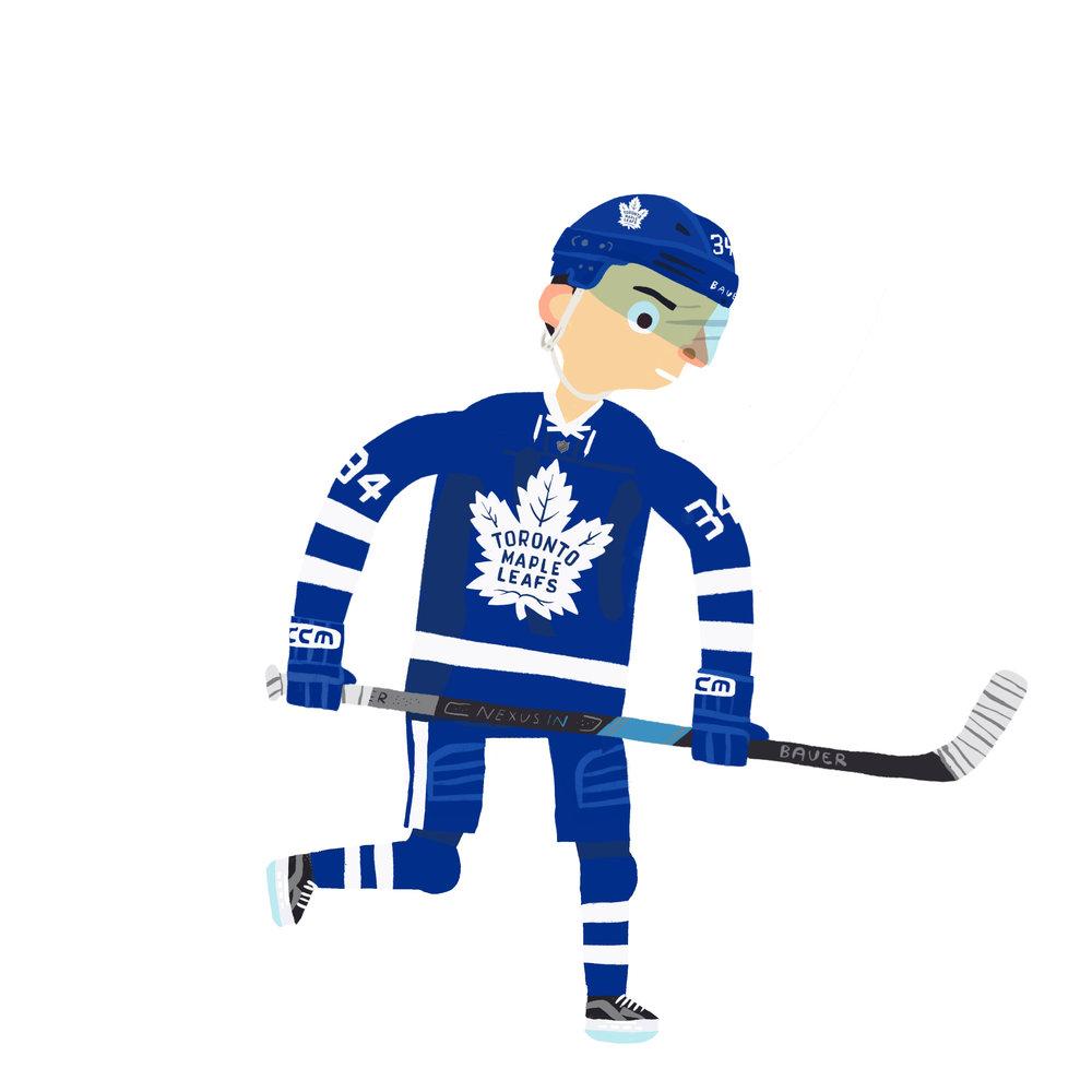 AUSTON MATTHEWS, b. San Ramon, California, USA Toronto Maple Leafs (2016-  )