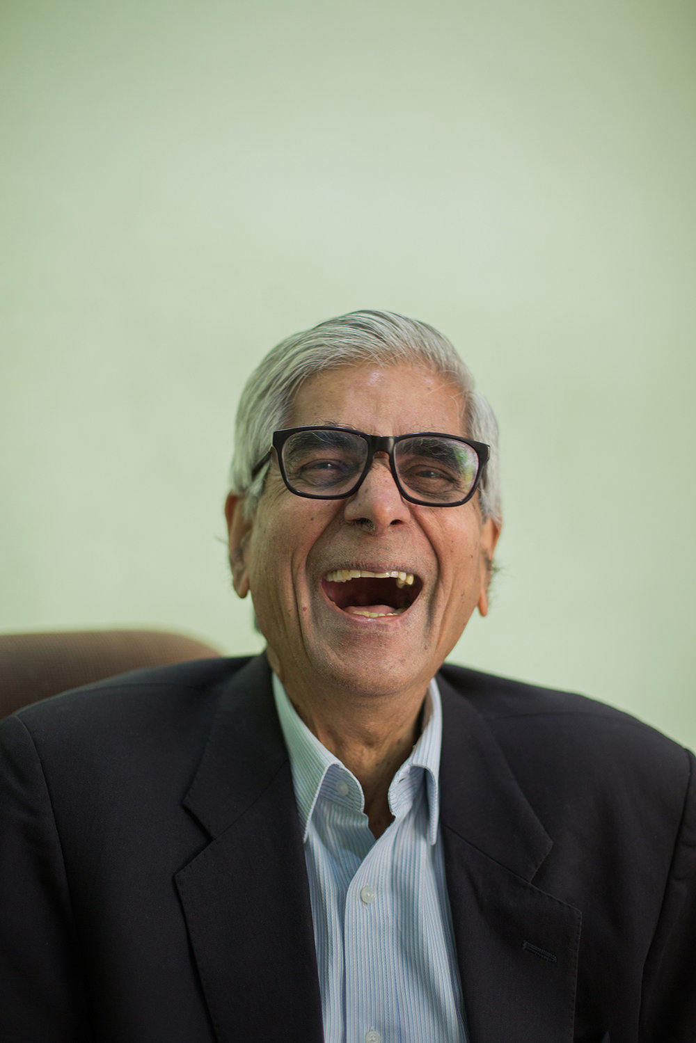 Padma Bhushan Devendra Raj Mehta, the Founder and President of BMVSS. In 2008 the President of India awarded him the Padma Bhushan, one of the three highest civilian honors. Dynamic, energetic, passionate and relentless. He not only runs the administrative operations, but also meets with patients to understand their needs and help them return to a normal life.