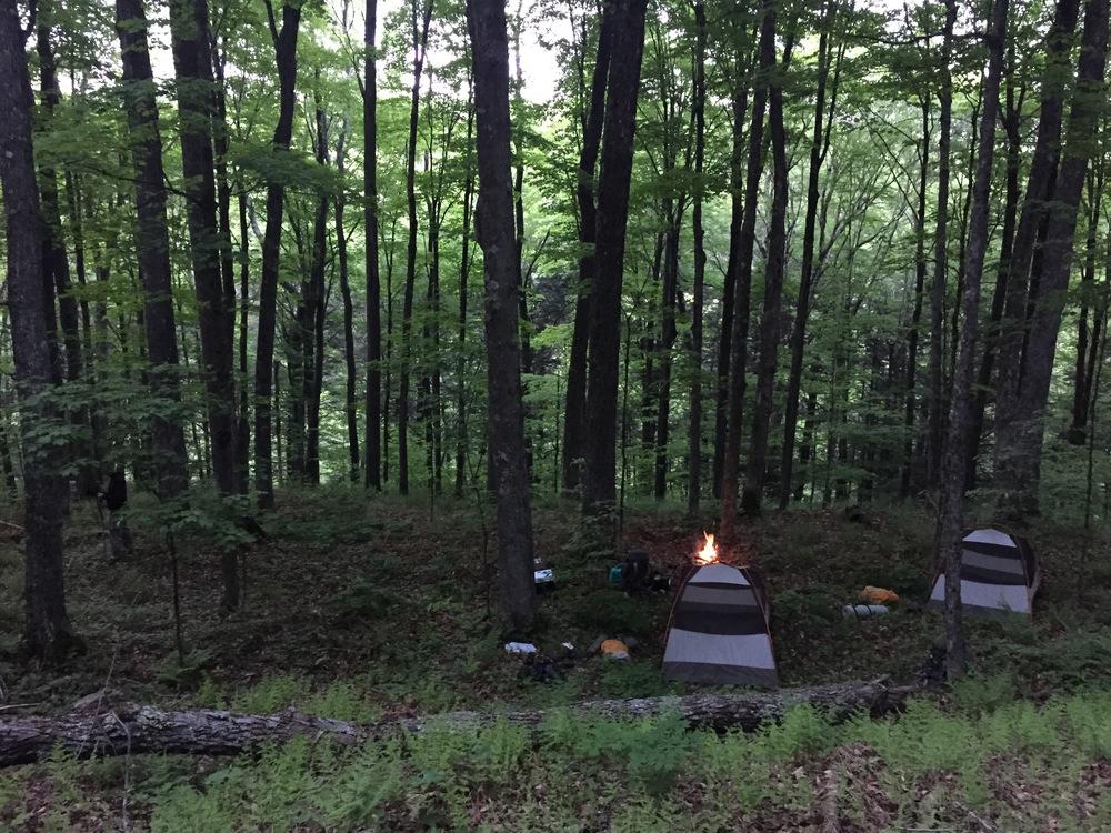 Catskill camping NY