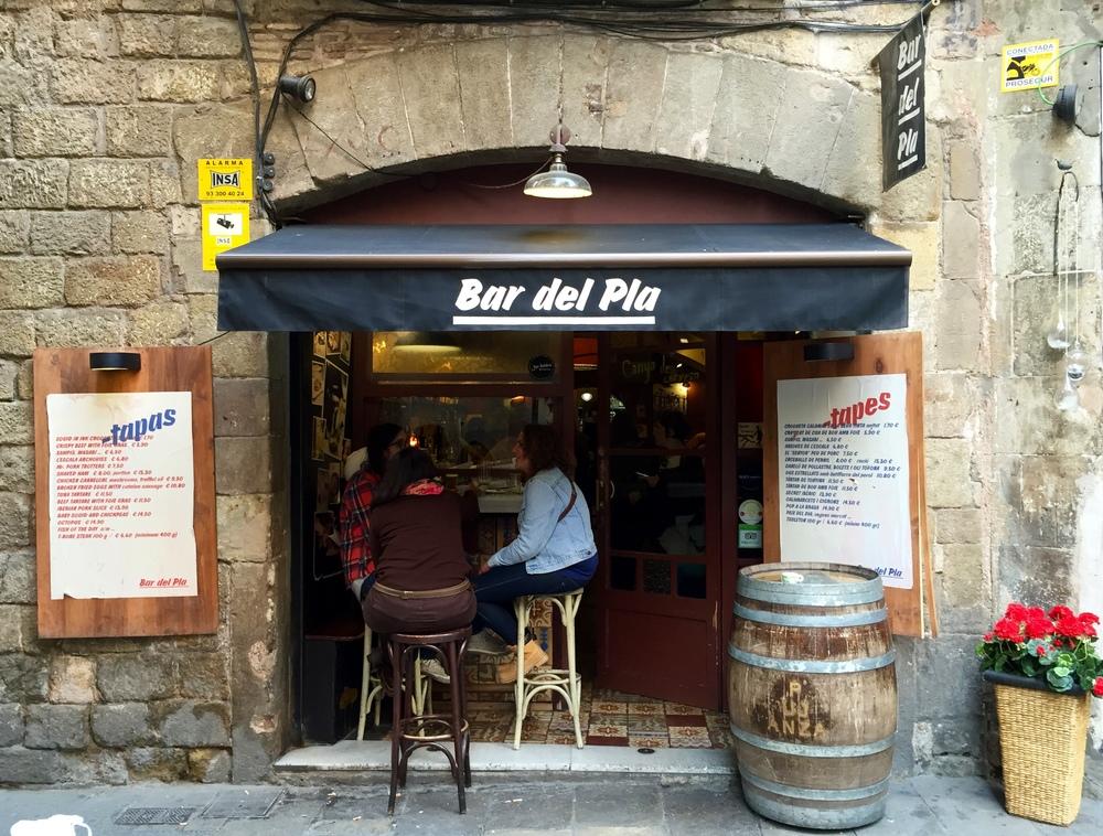 Entrance Bar del Pla