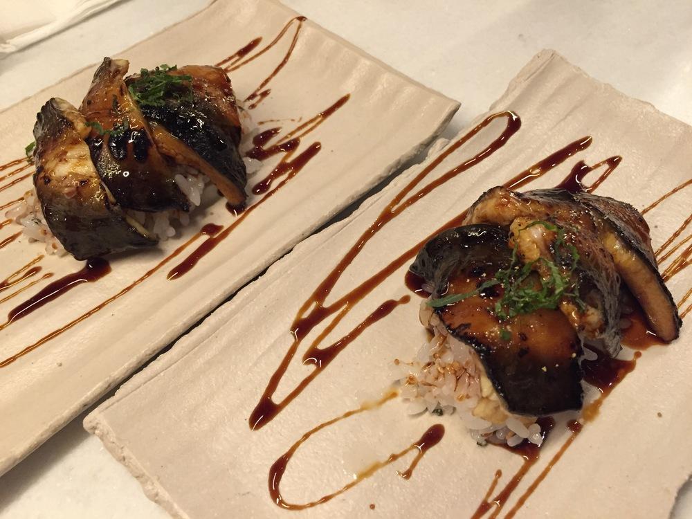 Sea eel Chirashi Sushi