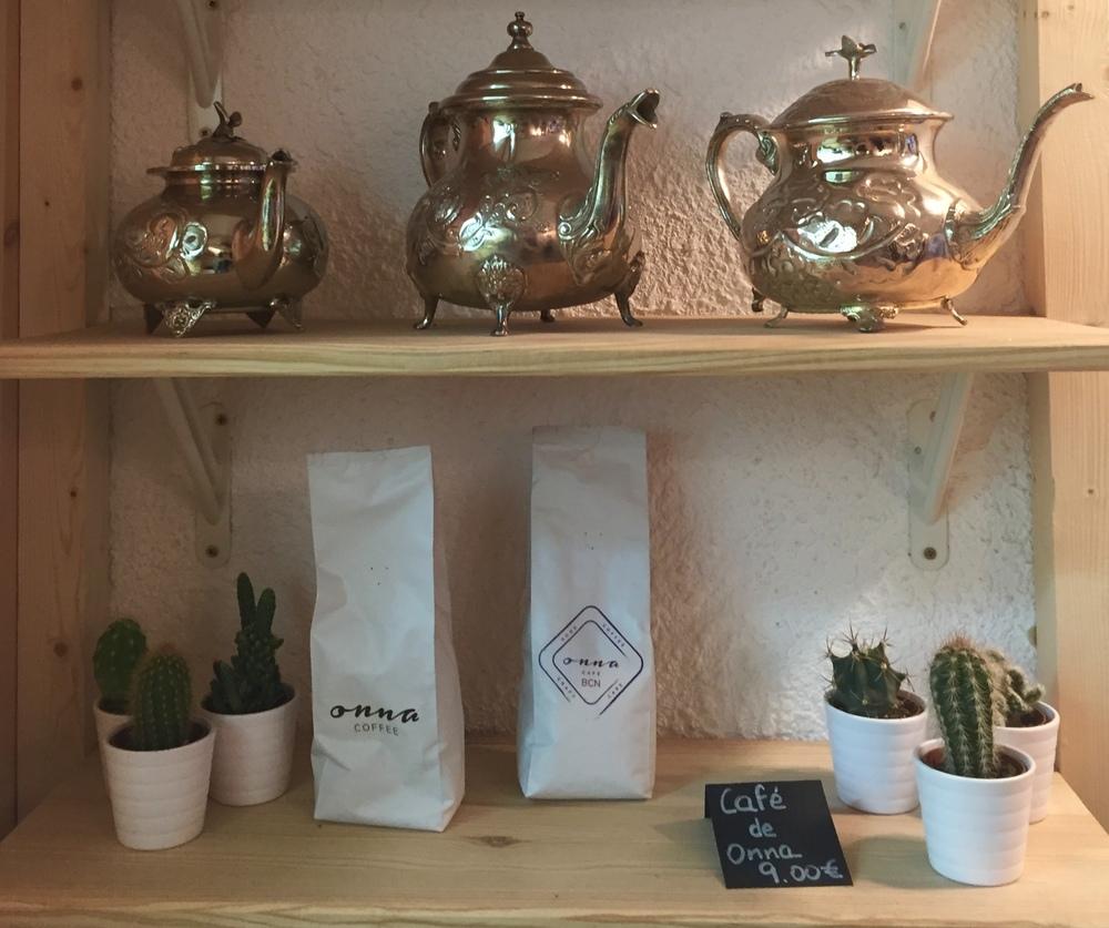 Coffee from Onna Café BCN