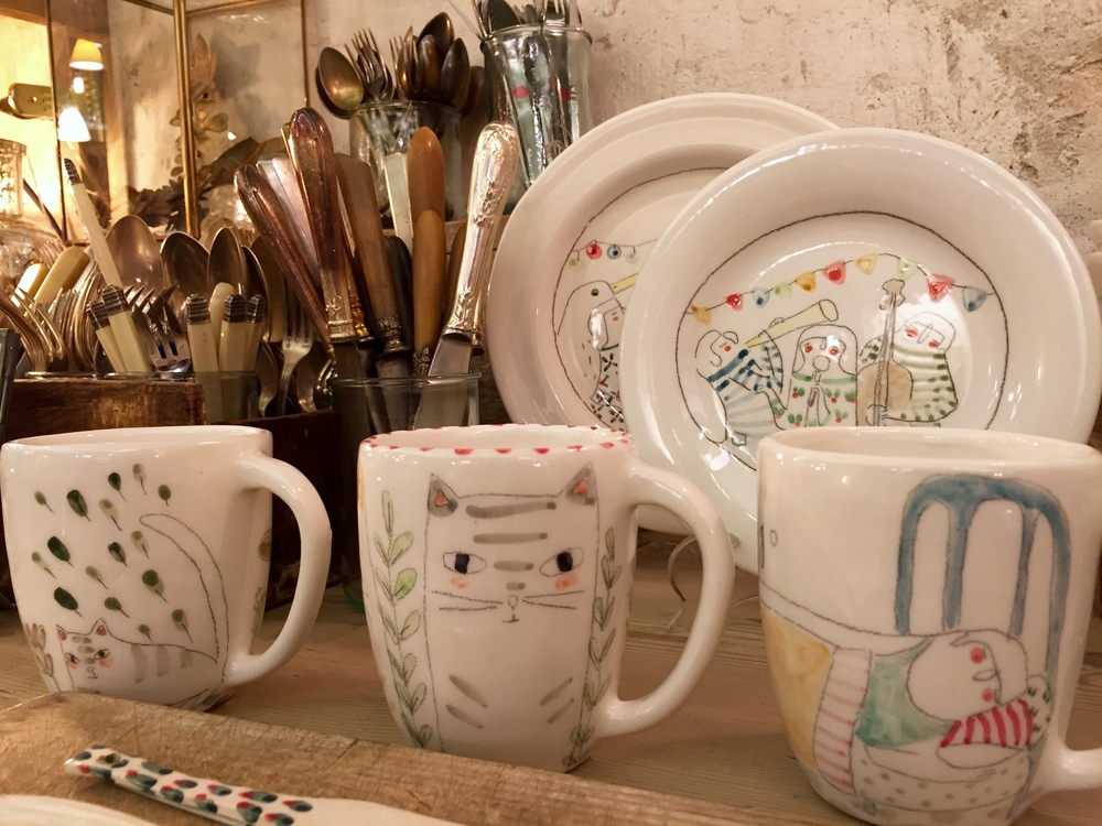Silbando bajito ceramics