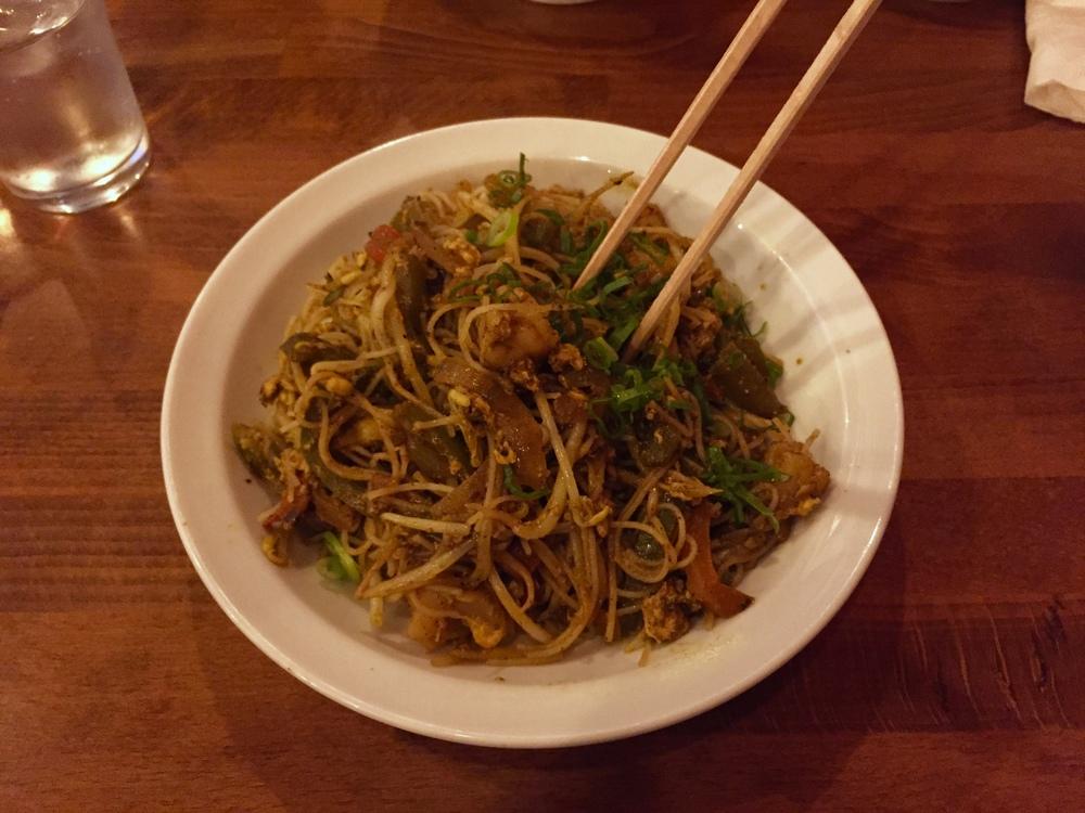 Organic flour noodles