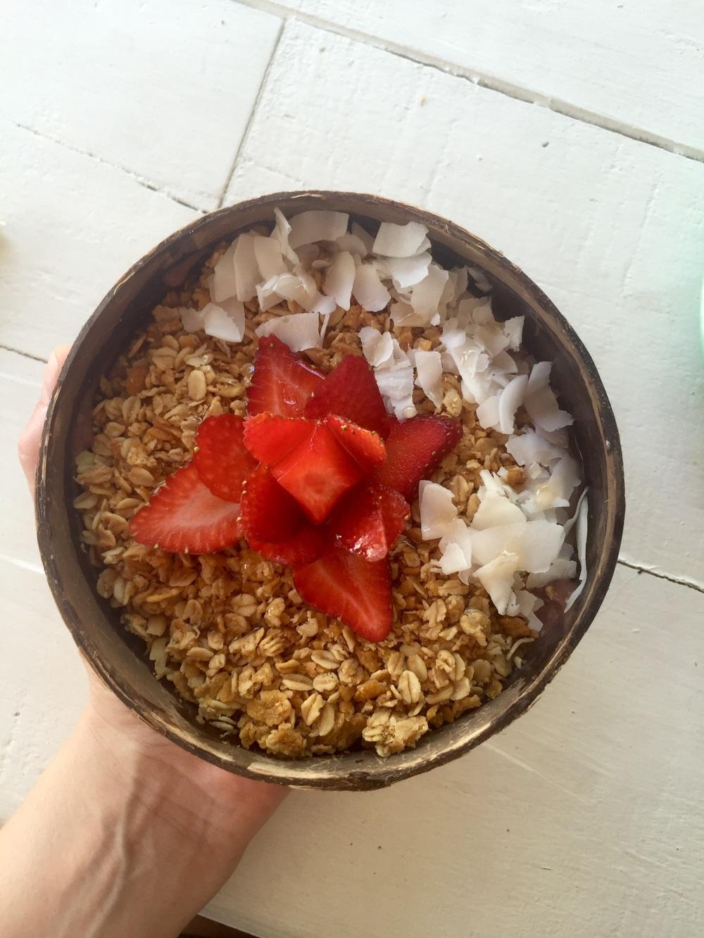 Nalu's Mavericks açai bowl
