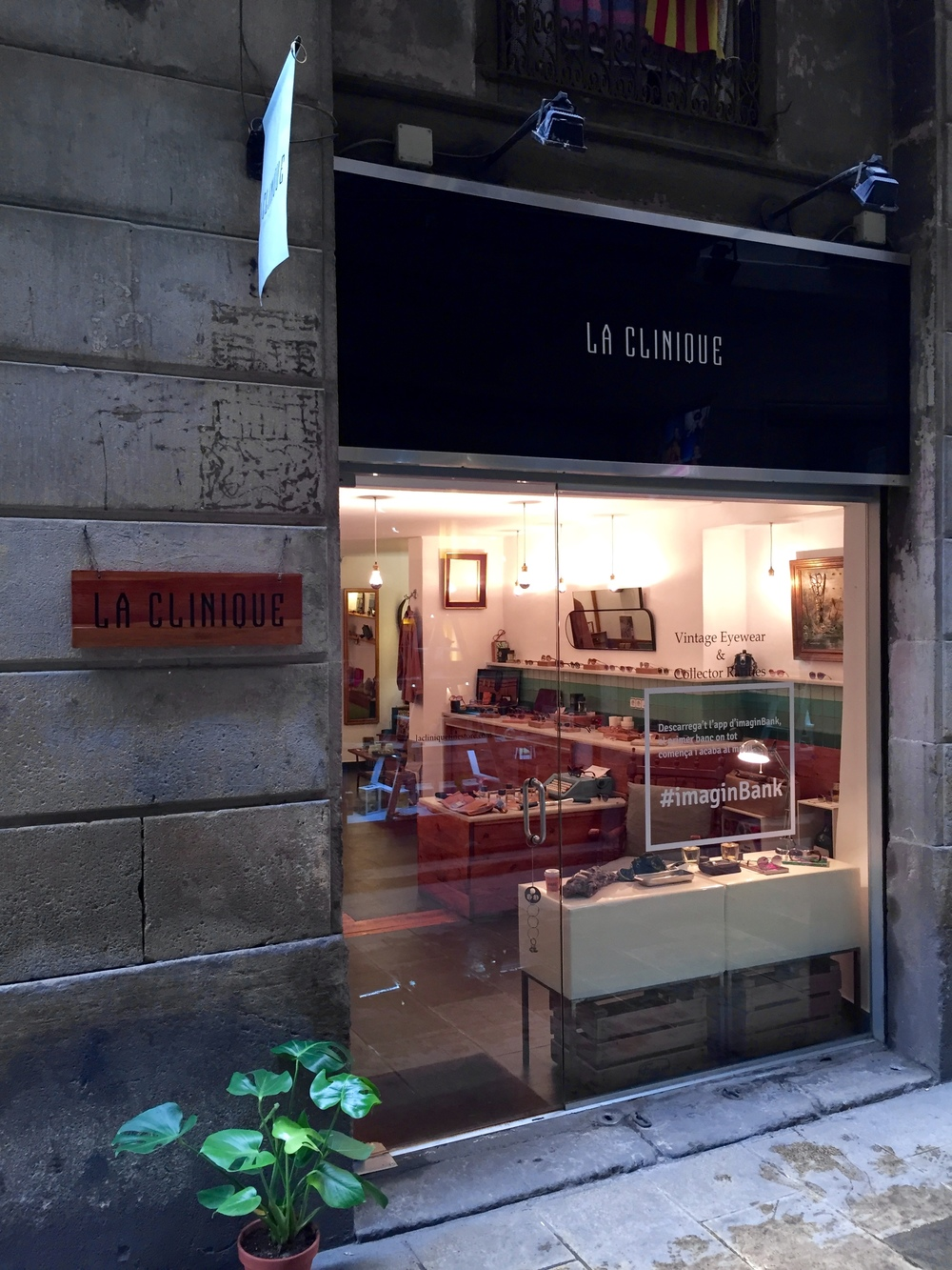 La Clinique, Fine store, Born - Appetite and Other Stories Barcelona and beyond