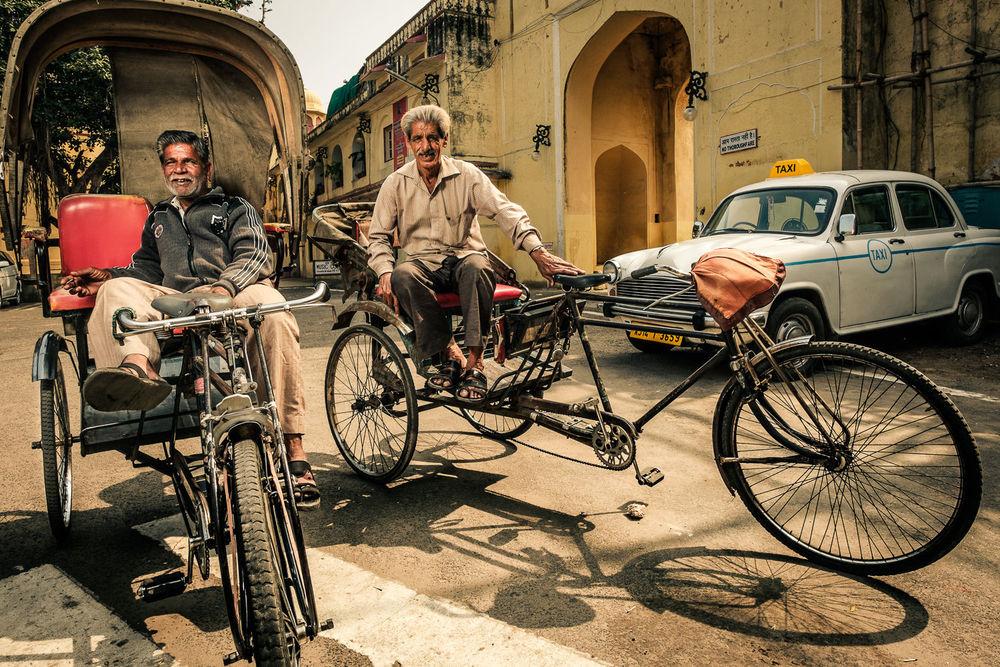 Rickshaw drivers, Jaipur