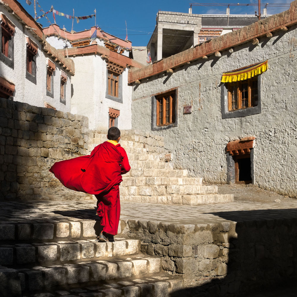 Monk @ Lamayuru Monastery