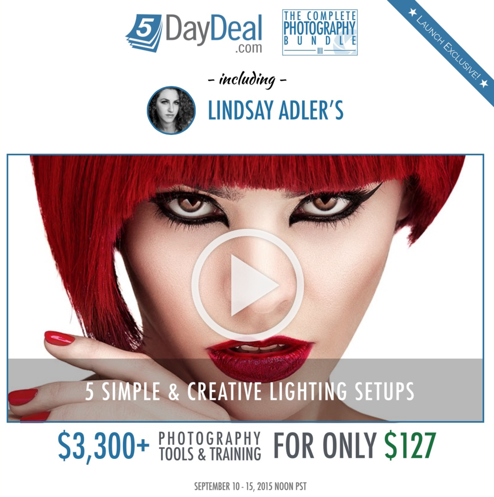 Lindsay Adler's excellent course is but one of over 40 training resources in this bundle.