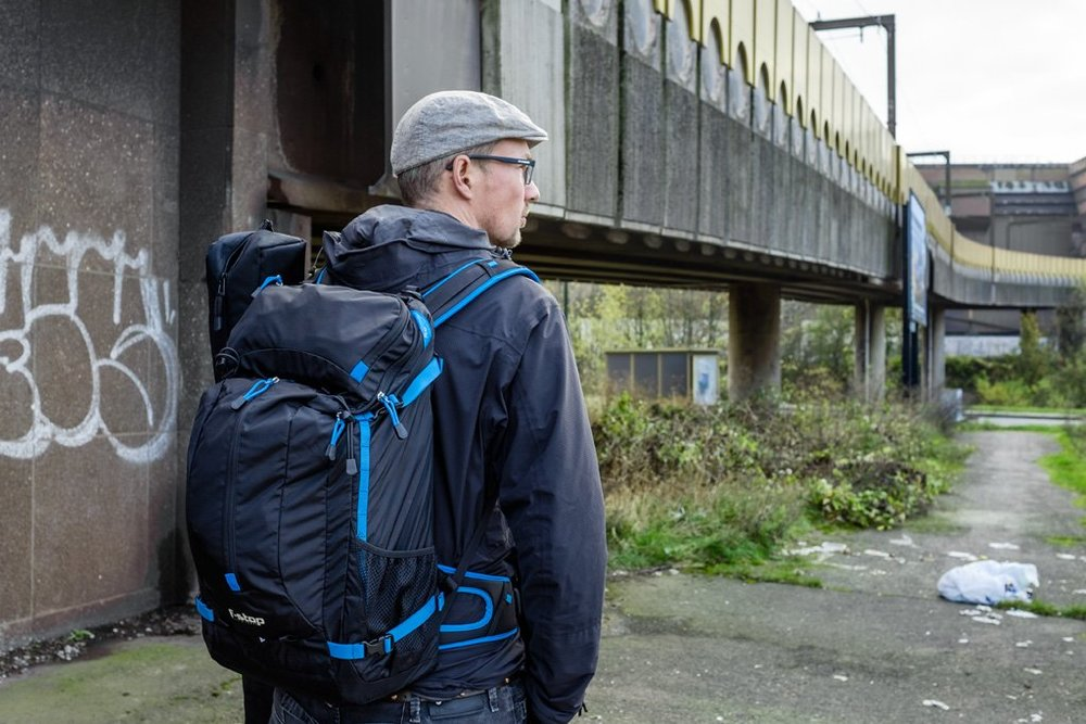 The Loka UL is the perfect lightweight backpack for a lightweight mirrorless system like Fujifilm's. I especially prefer it to a shoulder bag when I know I'll have to hike a lot.Image © Serge Van Cauwenbergh | www.fotografieblog.be