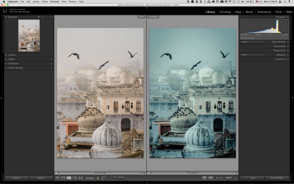 From dusk to dawn with the click of a single button. That's the power of Lightroom presets for you!