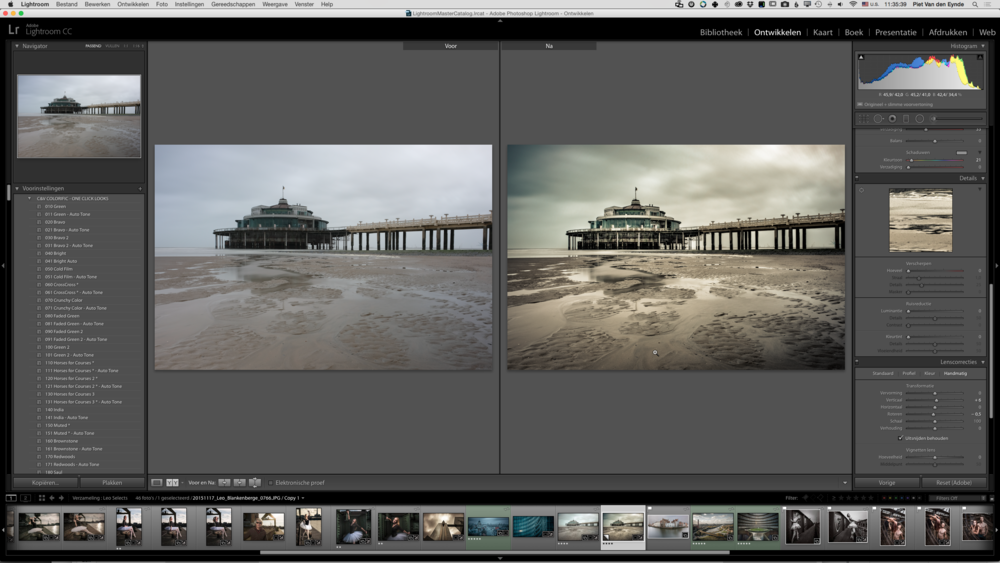 Met Lightroom kost het slechts een paar minuten werk om je foto's spectaculaire transformaties te laten ondergaan.