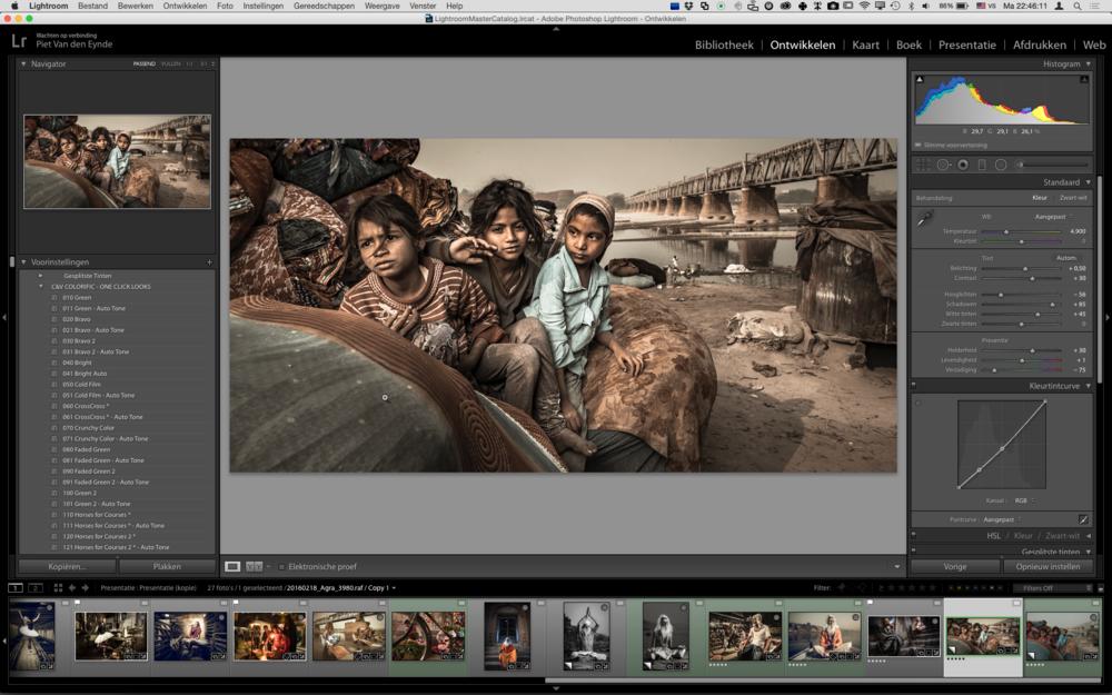 Plug-ins, Presets, Samenwerking tussen Lightroom en Photoshop, tips voor een snellere workflow, ... Het komt allemaal aan bod tijdens deze Lightroom Beyond The Basics.