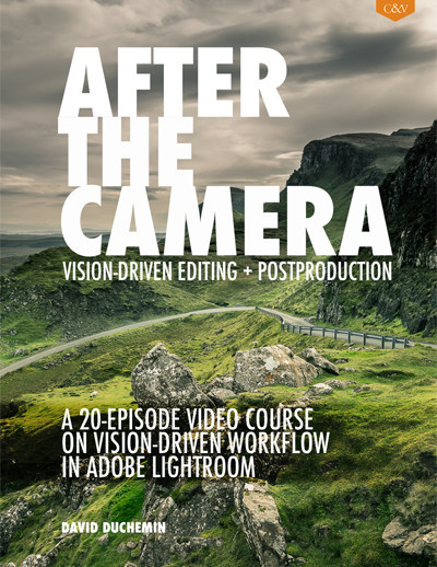 After the Camera is a 20 video, 4.5 hour journey on how a working, published photographer uses Lightroom to manage and edit his images.