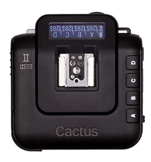 The Cactus V6 Mark II. Affordable High Speed Sync for Fujifilm users.