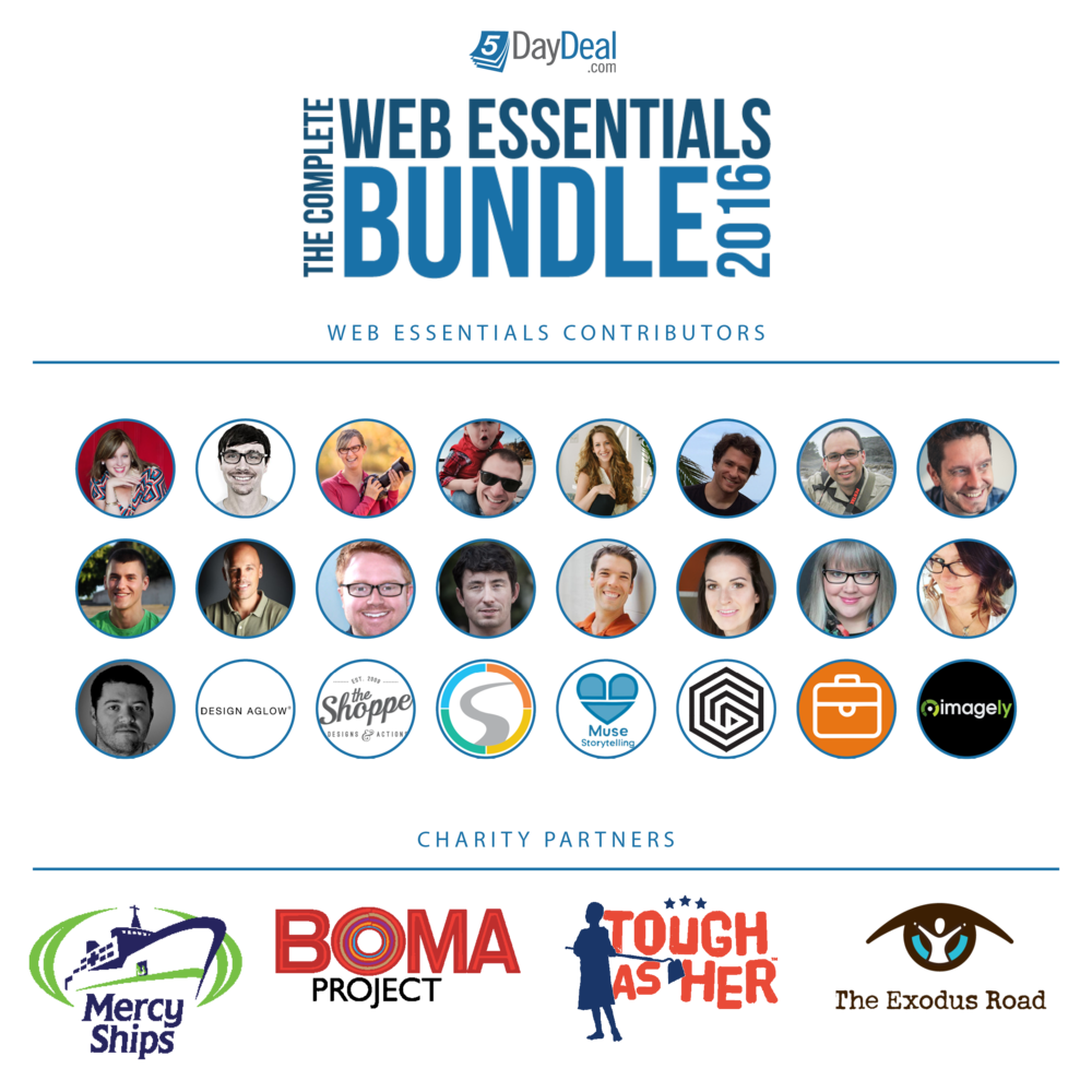 The Web Essentials Bundle for Photographers: over $3.000 worth of resources for only $87.