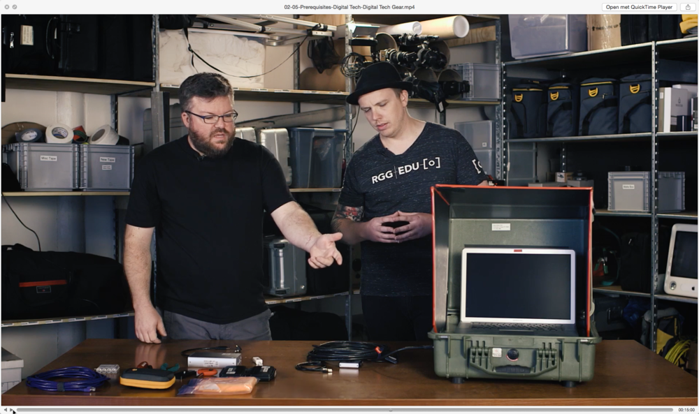 'I'll be in the shed...' Shad WIlson talks Gary from RGG EDU through how he turned a regular Pelicase into a sun-shielded laptop case.