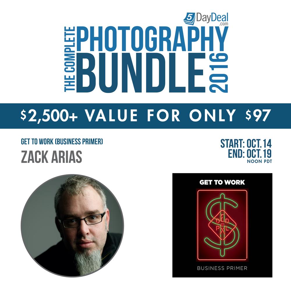 De immer to-the-point Zack Arias heeft een eBook van meer dan 100 pagina's geschreven over het runnen van een succesvolle fotostudio.
