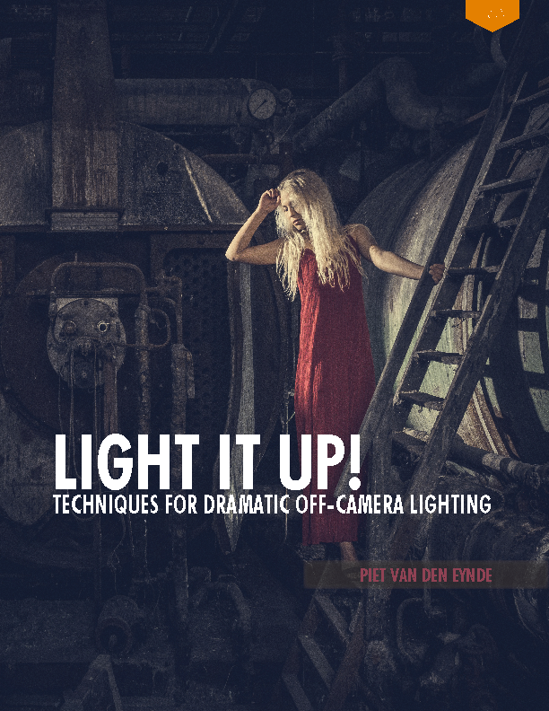 Light It Up! Techniques for Dramatic Off-Camera Lighting. New 160 page eBook + three 15' bonus videos + 5 presets. Get it now at www.lightitupphoto.com.