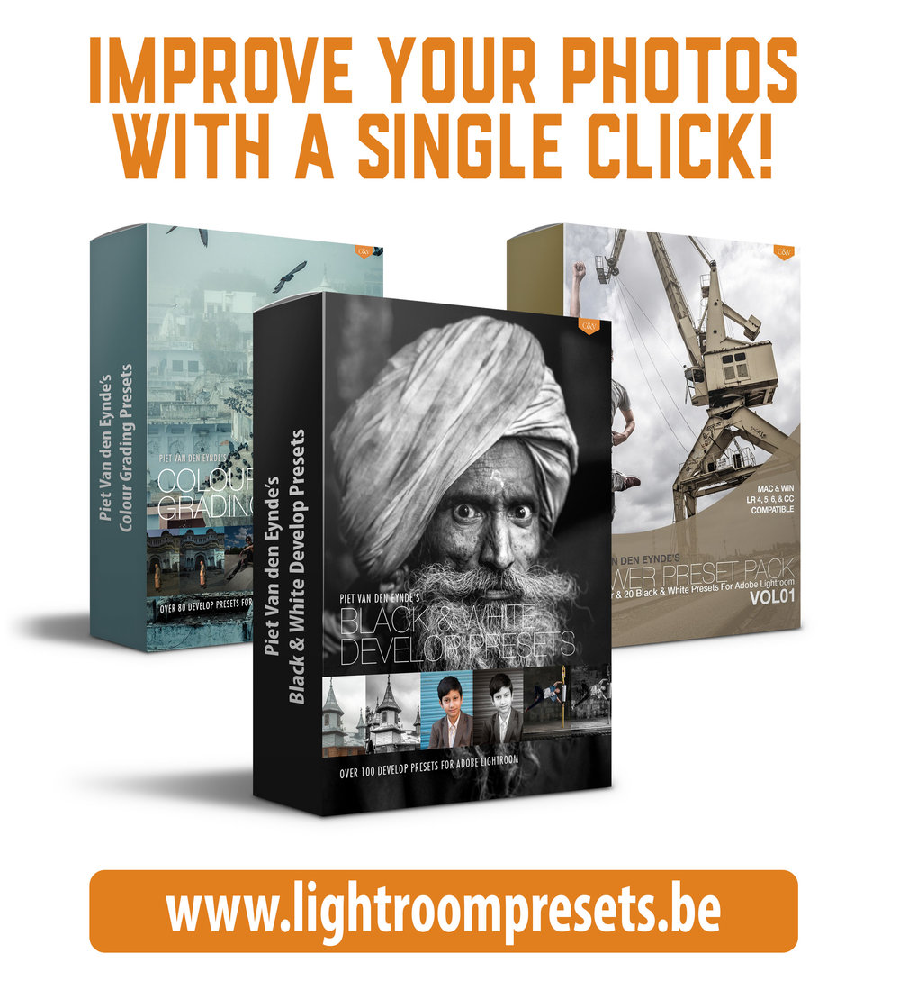 My 3 Lightroom presets packs, available separately or as a bundle with a 25% discount.